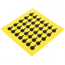 LÓT NỒI LODGE SILICONE TRIVET YELLOW