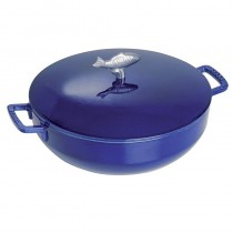 NỒI GANG STAUB DARK BLUE BOULLIABAISSE 28