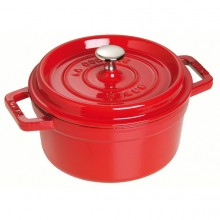NỒI GANG STAUB MINI CHERRY ROUND 10