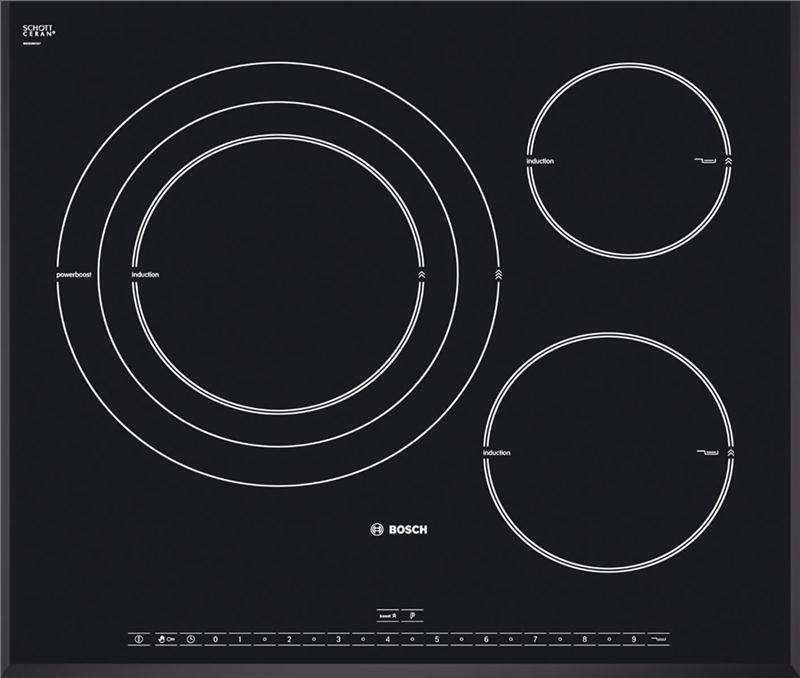 cận cảnh vẻ đẹp của Bosch PID651N24E