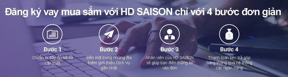 đăng ký khoản vay với HD SAISON