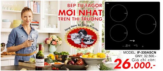 Bếp từ Fagor IF-330ASCN