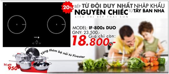 Bếp từ Fagor IF-800S DUO