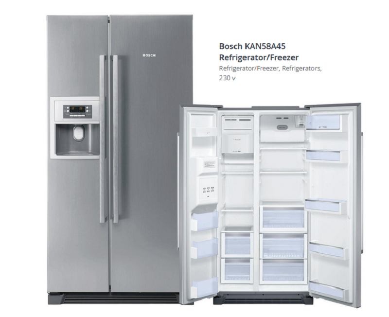 Tủ lạnh side by side Bosch KAN58A45
