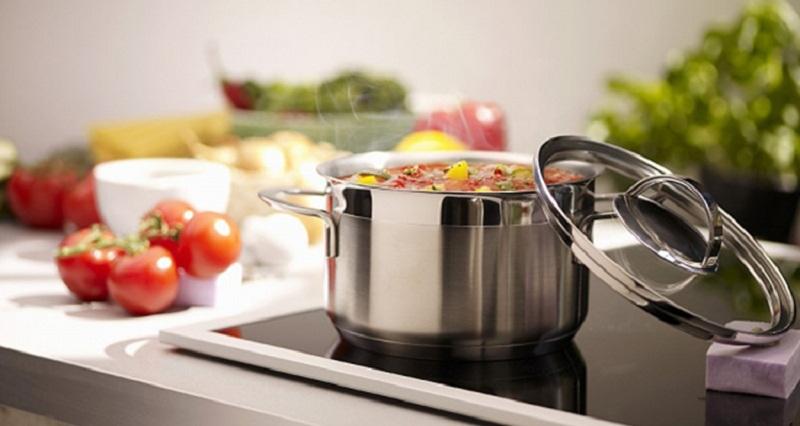 Bếp từ Teka tự động nhận dạng kích cỡ nồi chảo