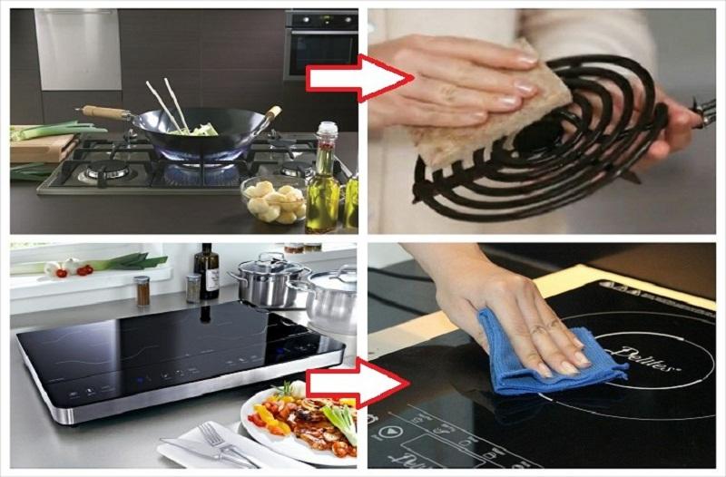Bếp từ dễ dàng sử dụng và vệ sinh