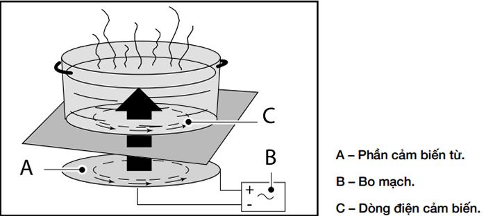 Cơ chế hoạt động của bếp điện từ Fagor