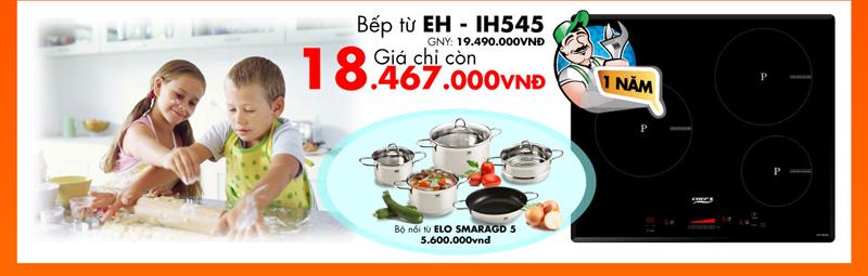 khuyến mại bếp từ Chefs