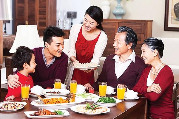 Hâm nóng hạnh phúc từ bữa cơm gia đình