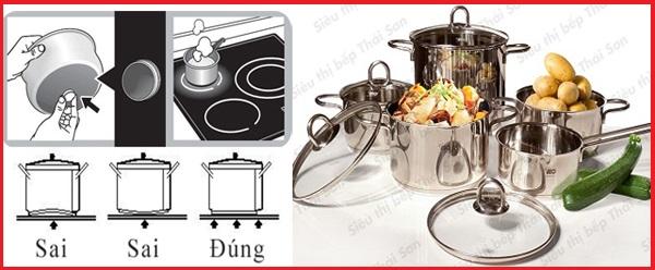 Khuyến mại khủng bếp điện từ Fagor