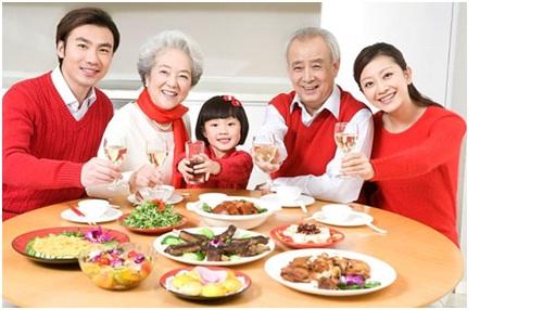 Gian bếp nơi đoàn tụ gia đình