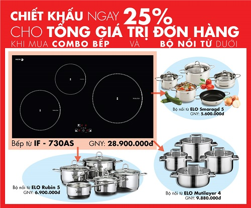 Big Sale bếp từ Fagor mới nhất trên thị trường