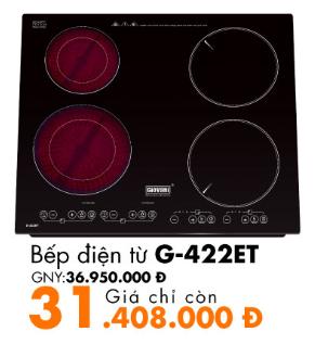 bếp điện từ g-422et