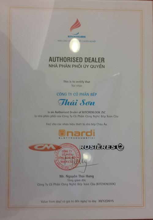 Bếp Thái Sơn là đại lý phân phối chính hãng bếp điện từ Nardi