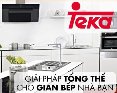 Mua bếp, hút tặng lò vi sóng Teka