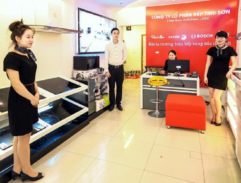 Siêu thị Bếp Thái Sơn phân phối chính hãng các thương hiệu bếp cao cấp nhập khẩu