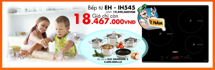 Bếp từ EH – IH545 với giá khuyến mại hấp dẫn