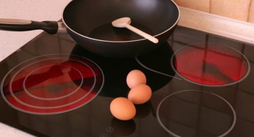 Dễ dàng vệ sinh với bếp từ hồng ngoại