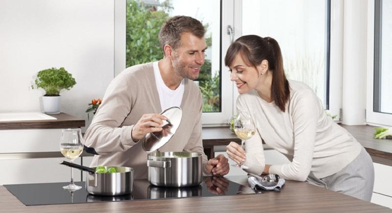 Bếp điện từ cảm ứng cho hiệu quả nấu ăn cao