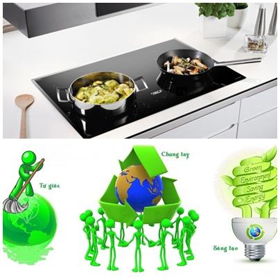 Đun nấu tiết kiệm và bảo vệ môi trường