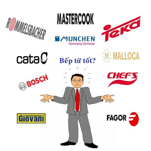 Lựa chọn bếp từ hãng nào