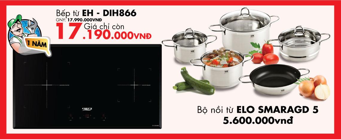 bếp từ chefs EH - DIH866