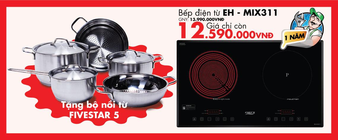 bếp điện từ EH – MIX311