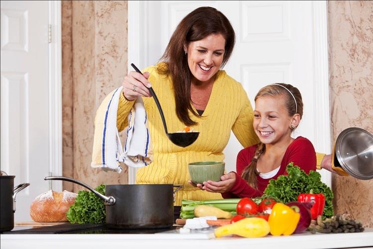Chức năng khóa trẻ em của bếp từ