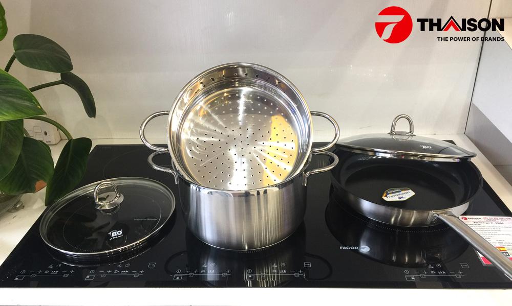 Bộ nồi bếp từ Elo Smaragd Plus