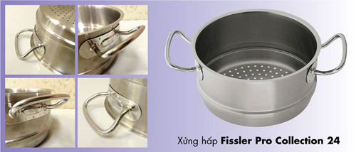 XỬNG HẤP FISSLER PRO COLLECTION 24