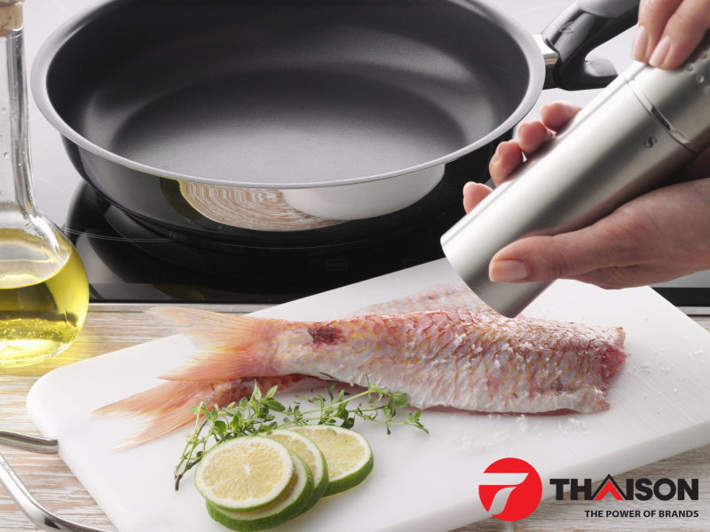 Chảo chống dính Fissler Protect Steelux Premium
