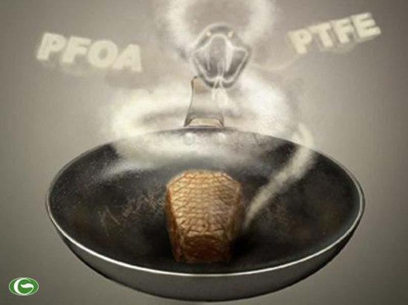 Hợp chất PFOA và PTFE có hại cho sức khỏe