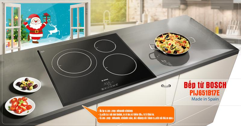 Bosch PIJ651B17E lịch sự trong nhà bếp của bạn
