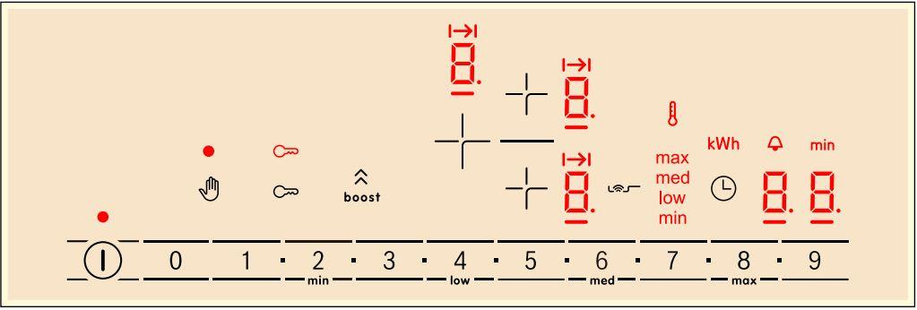 Bảng điều khiển bếp từ Bosch PIJ675FC1E