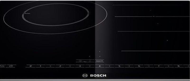 Bếp ba vùng nấu tiện dụng với bảng điều khiển cảm ứng siêu nhạy