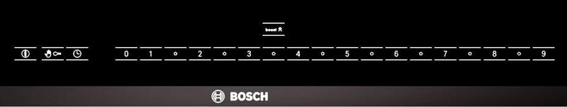 Bảng điểm khiển cảm ứng từ của Bosch PIL975N14E