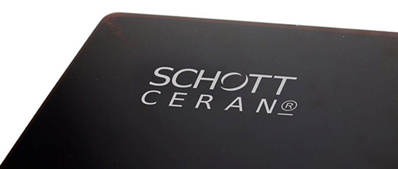 Mặt kính bếp Schott Ceran - CHLB Đức an toàn, dễ vệ sinh, thân thiện môi trường