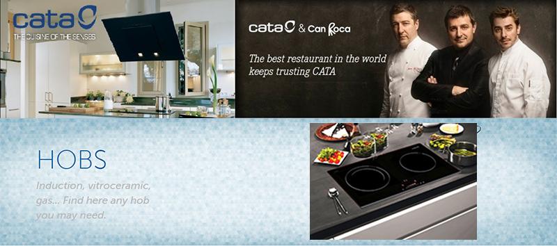 Bếp từ đôi Cata IB - 772 an toàn cho người dùng