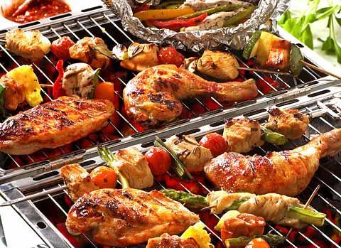 Bếp điện từ có thể nướng đồ ăn trực tiếp