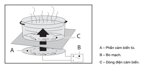 nguyên lý hoạt động của bếp từ