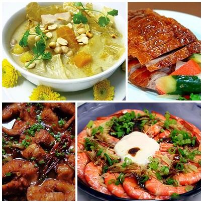 Bếp nấu được nhiều món cùng một lúc