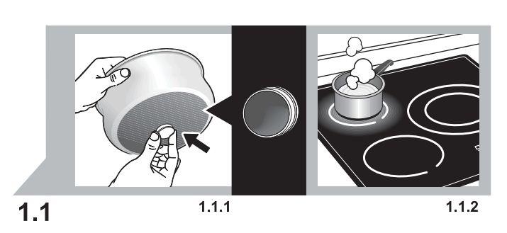 Cách chọn nồi cho bếp từ
