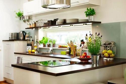 Không khí trong lành, dễ chịu khi sử dụng bếp điện từ