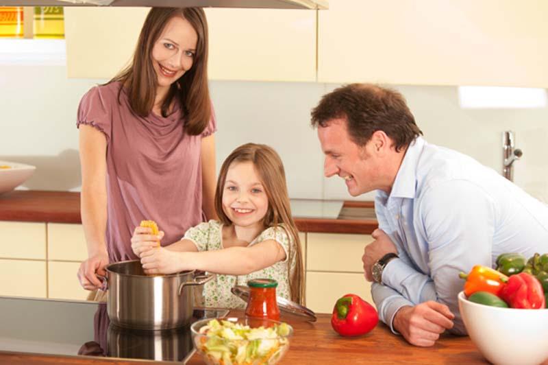 Bếp từ Apelson cho sum họp gia đình đầm ấm