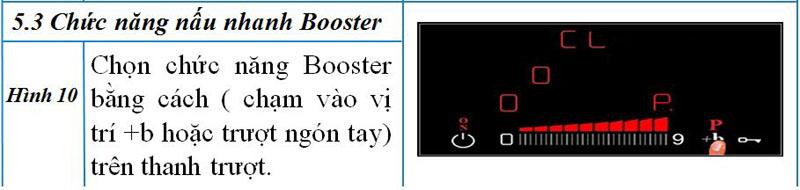 chức năng booster