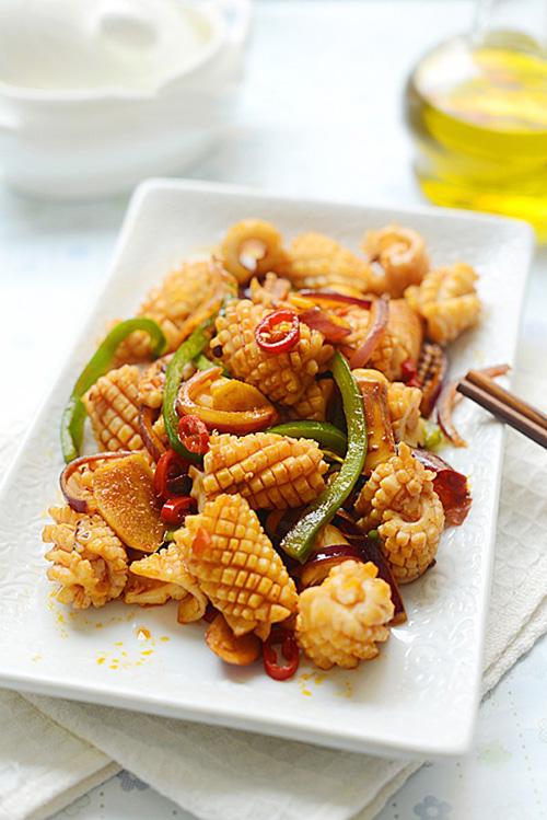 Món ăn thơm ngon hơn khi nấu với bếp điện