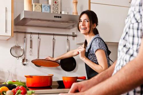 Bếp điện nấu ăn nhanh giúp chị em hứng thú vào bếp hơn