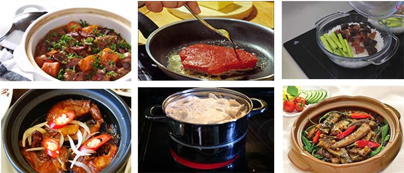 Bếp điện Fagor 2VFT -  211AS tương thích mọi chất liệu nồi nấu