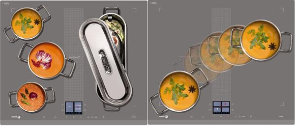 Công nghệ Horizone trên bếp từ Fagor