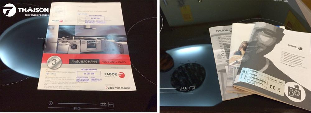 Bảo hành bếp từ đôi Fagor FPI2073S